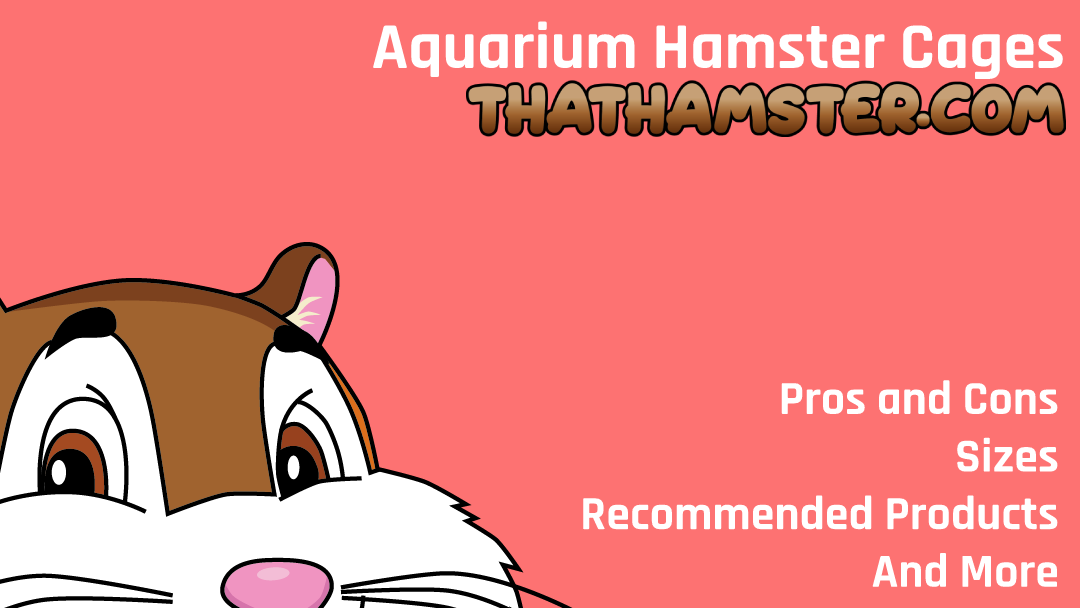 Aquarium Hamster Cage ? The Alternative to Bars